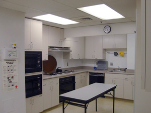 Brunsman Hall Kitchen