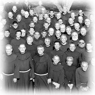 St. Barbara Province Friar group photo