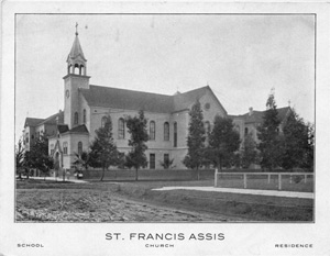 St. Francis of Assisi Church Raised 1901